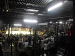 "The infamous ""bear pit"" inside Lumpinee Stadium"