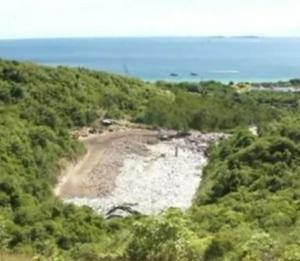 Koh Larn landfill