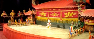 Vietnamese water puppets in Ho Chi Minh City